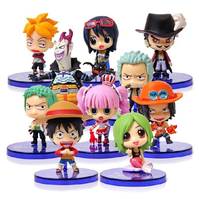 10pcs/set <font><b>One</b></font> <font><b>Piece</b></font> <font><b>Luffy</b></font> <font><b>Sanji</b></font> <font><b>Zoro</b></font> <font><b>Perona</b></font> Action Figure <font><b>Anime</b></font> PVC Chopper <font><b>Usopp</b></font> Model Toy Gift Full Set free shipping