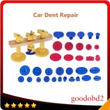 Auto PDR Tool 33x Plastic Glue Tabs Remove Dents Puller Kit Paintless Dent bridge Repair Tools for Car Body work Dent Repair