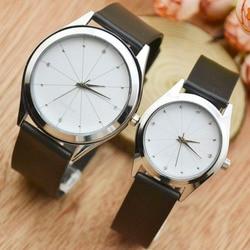 Korean fashion Vintage minimalist watch trend middle school belt Korean version casual men and women watches wholesale