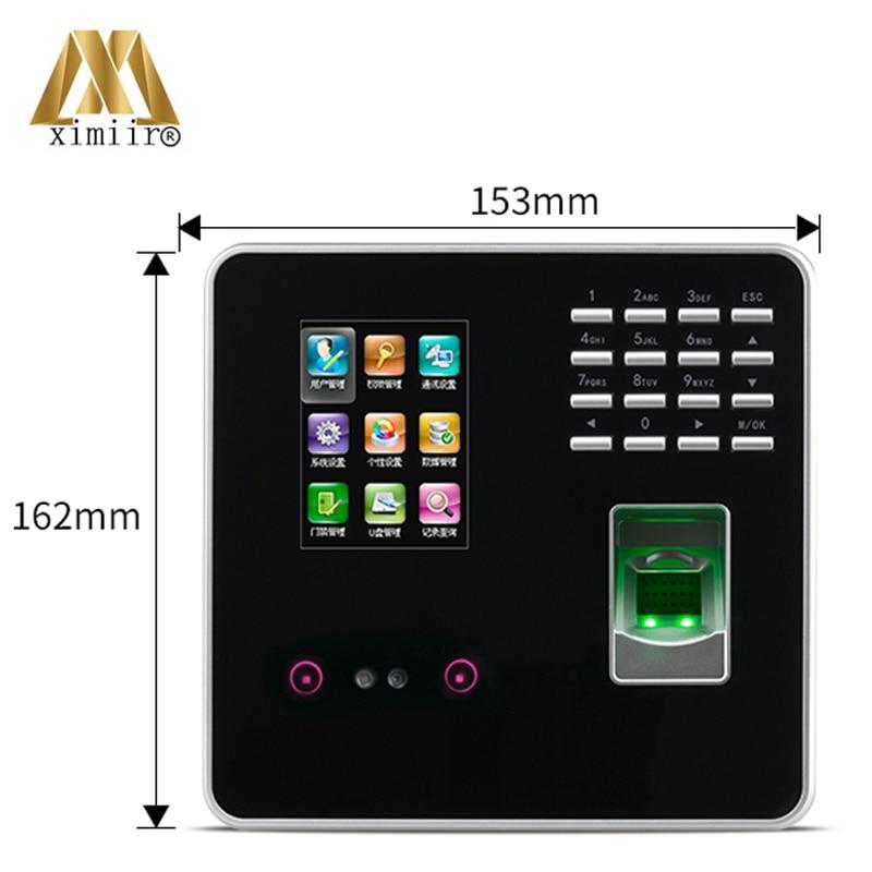 FA200 ZK инфракрасная камера TCP/IP связь отпечатков пальцев + цвет лица экран пароль определение времени часы посещаемость времени - 2
