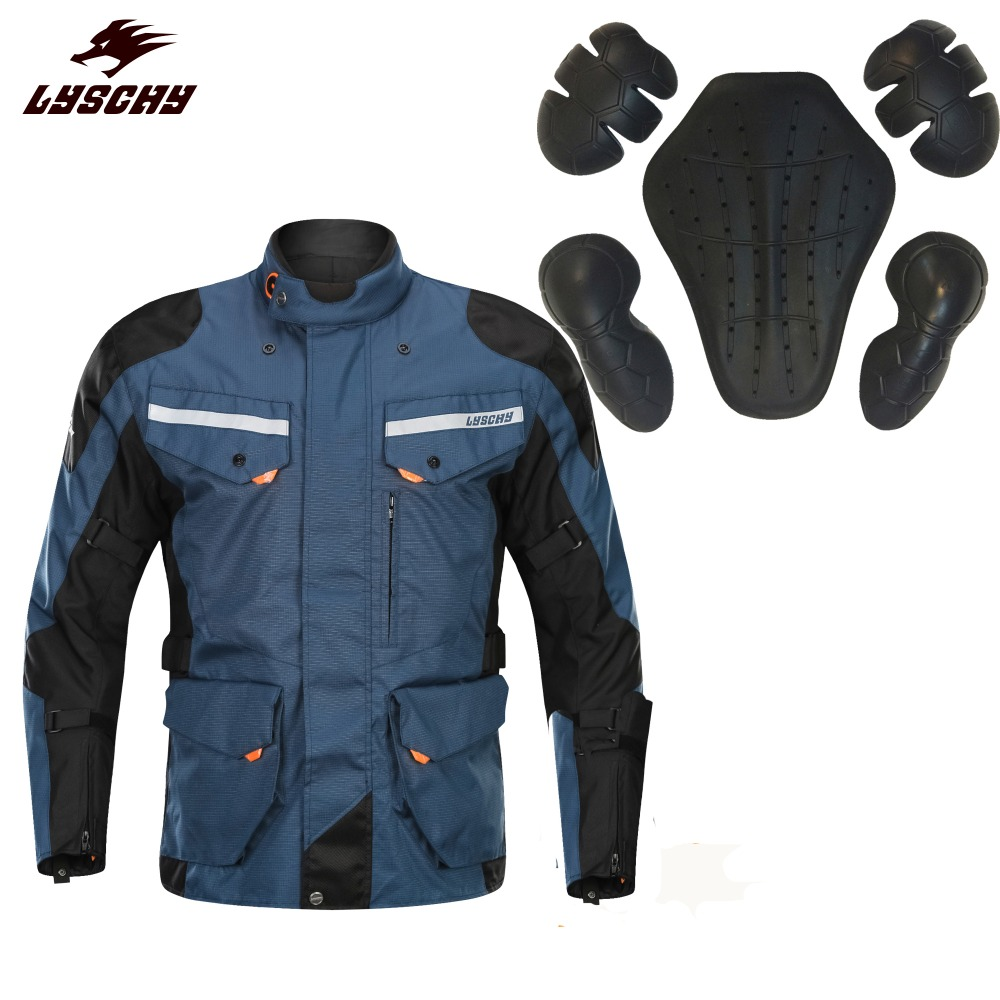 2019 European Standard Mesh Motorcycle Jacket Winter Keep Warm Detachable Motorbike Motocross Jacket Full Body Protective