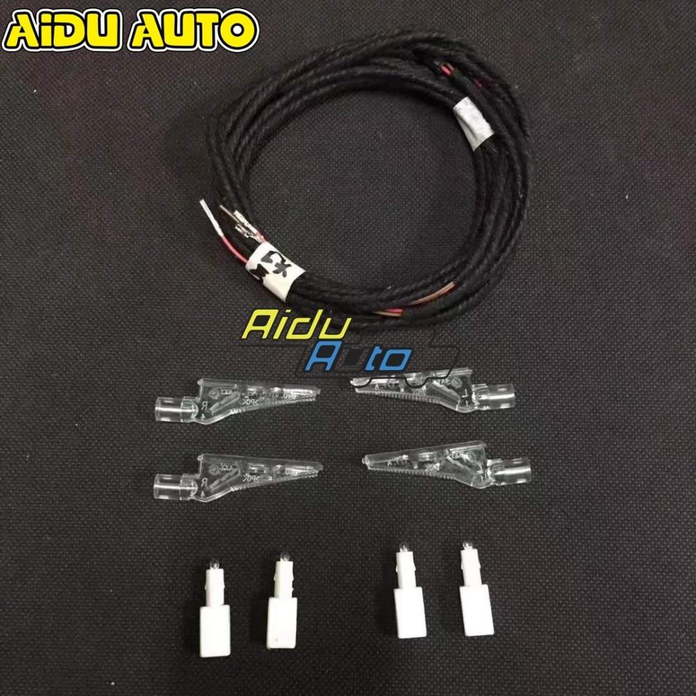 For Audi A3 8V door handle LED ambient light