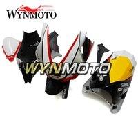Fiberglass Racing Fairing Kit For Aprilia RSV4 1000 Year 2010 2015 11 12 13 14 15 Motorcycle Bodywork Cowlings Yellow Grey