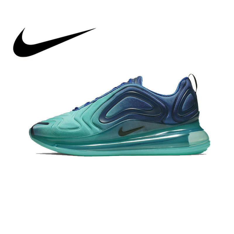 Original authentique NIKE Air Max 720 chaussures pour hommes baskets de course sport Sports de plein Air respirant baskets 2019 nouveau AO2924-400