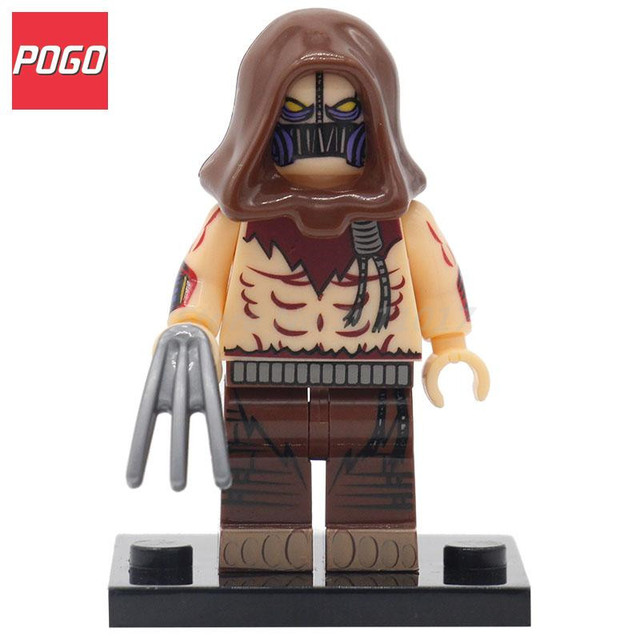 POGO Scarecrow Suicide Squad Joker Two Face Super Hero Building Block Toys Single Sale Children Brick