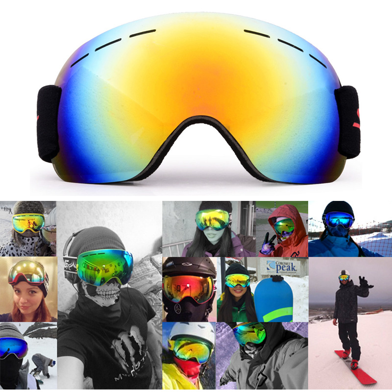 Wind proof Motorcycle Riding Glasses Skiing Glasses Eye Protection Outdoor Sport Driving Cycling Mountain Climbing Goggles