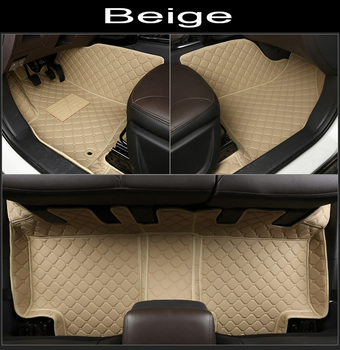 Car floor mats for Honda Accord 7th 8th 9th generation 5D all weather car-styling carpet rugs floor liners(2003-)