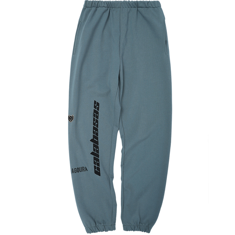 2018 Best Quality Kanye West Calabasas Embroidery Women Men Sweatpants Joggers Pants Hiphop Streetwear Men Pants Trousers