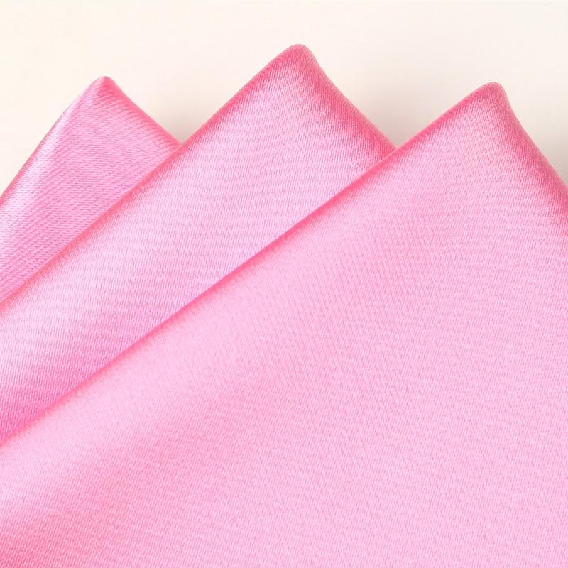 New Fashion Mens Ties Solid Gravatas Neck Tie Slim Business Suit Pocket Napkin Tie For Wedding &Meeting