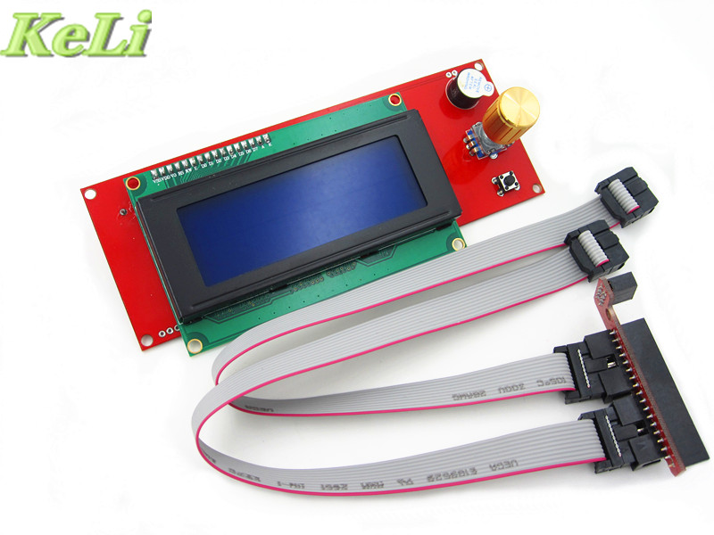 Promotion 3D Printer Kit Reprap Smart 3D Printer Parts Controller Display Reprap Ramps 1 4 2004