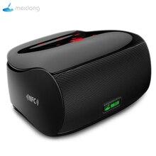 Meidong MD 5110 مكبر صوت بخاصية البلوتوث قابل للنقل المحمولة اللاسلكية مكبر الصوت نظام الصوت ستيريو الموسيقى المحيطي تاتش ميني رئيس
