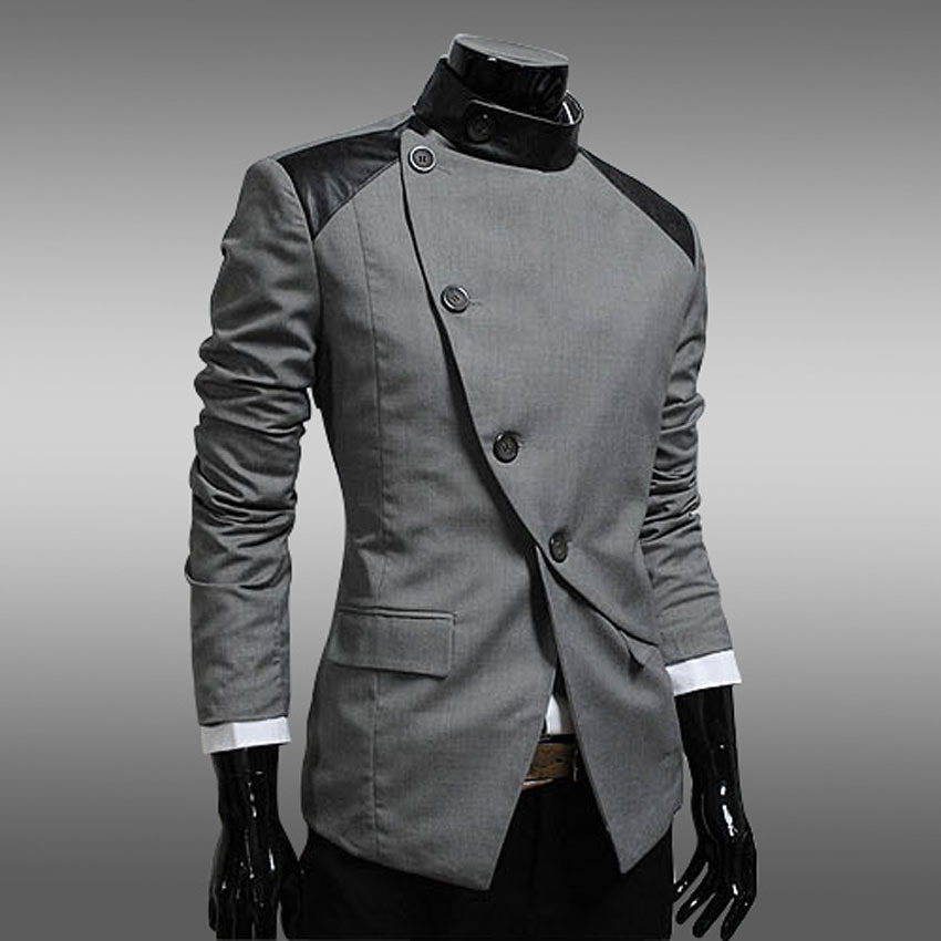 Men Casual Blazers Designer Brand Slim Fit 2015 High Fashion ...