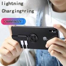 Разъем для наушников адаптер для Lightning 3,5 мм Apple iPhone X 6 8 7 PLUS XS MAX XR наушники AUX зарядка слуховой разъем адаптер
