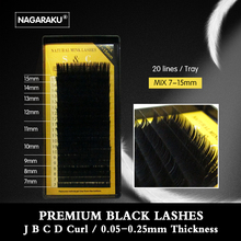 All size,1 case,High quality eyelash extension mink,individual eyelash extension,natural eyelashes,fake false