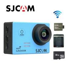 Original SJCAM SJ5000X Elite WiFi 4K 24fps Gyro Sport Action Camera +Extra 1pcs Battery+Battery Charger+32GB Card Free shipping!