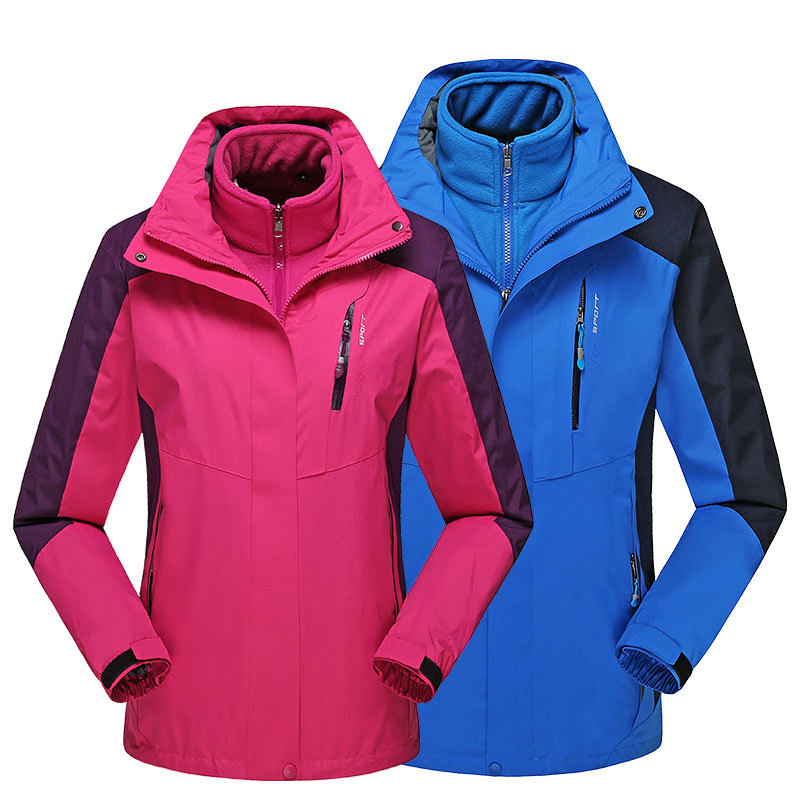 Mountaineering  Ski Jackets Men Waterproof Windproof Warm Winter Snowboard Jackets Outdoor Snow Skiing Clothes