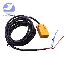 10 шт., индуктивный датчик приближения 5 мм, 3 провода, переключатель обнаружения NPN DC 6 36 в