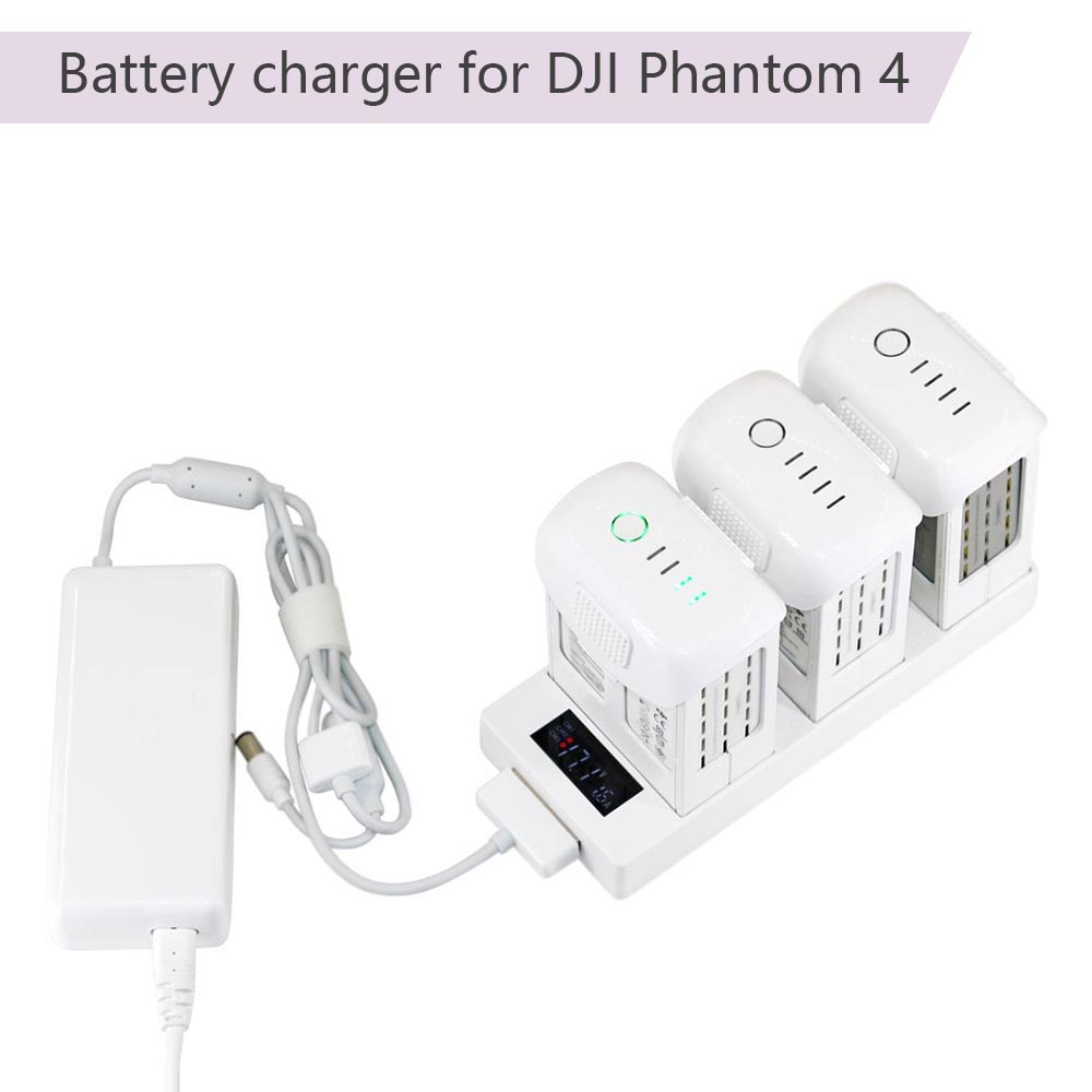 4in1 Intelligent Battery Charging Hub Charger Adapter For DJI Inspire 1//Pro M100