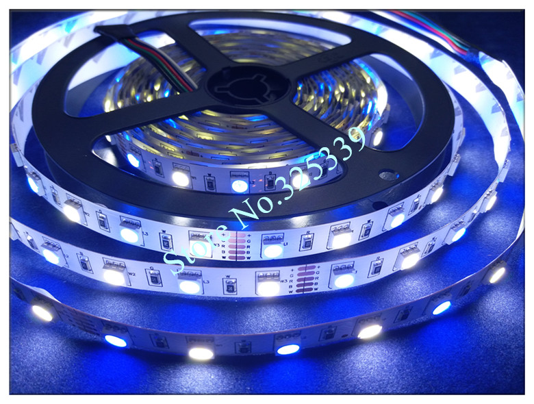 10 комплектов RGBW RGBWW SMD 5050 5 м неводостойкая Светодиодная лента фонарик RGB W лента+ 40 кнопочный пульт дистанционного управления+ 3а адаптер питания
