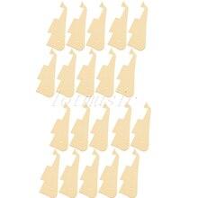 20Pcs Gloss Plastic Guitar Pickguard Plate for Electric Repacement