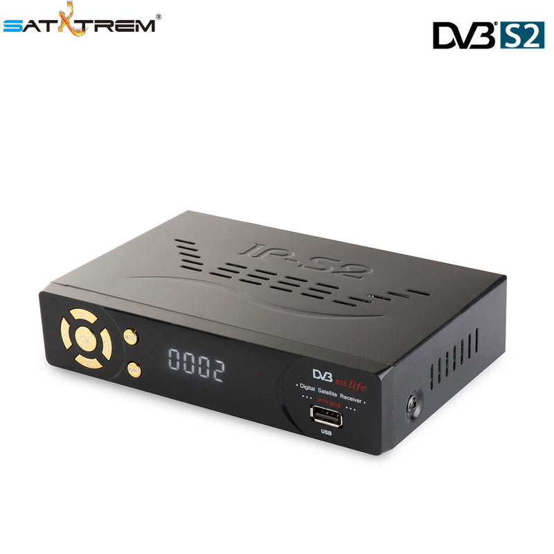 SATXTREM IPS2 Plus Full HD DVB-S2 Satellite Receiver TV Tuner Free Channels Satellite Decoder Receptor support cccam youtube цены