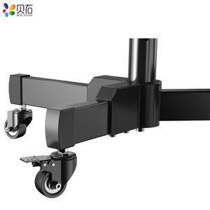"""Image 4 - Universal TV Cart Free Lifting 32"""" 65""""LED LCD Plasma TV Trolley Stand with Mobile Wheels and Adjustable AV Shelf Camera Holder"""