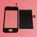 100% de garantía de trabajo s5830 pantalla táctil sensor de cristal digitalizador + lcd de pantalla para samsung galaxy ace s5830 teléfono inteligente reemplazo