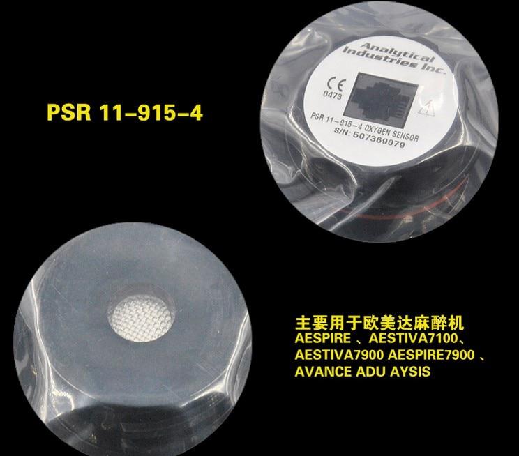 Ohmeda 7900 7100 Aestiva 3000 Oxygen Sensor PSR 11 915 4 PSR 11 915 4 O2