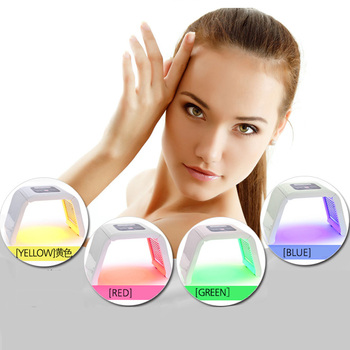 Hot LED Facial Mask Therapy 4/7 Colors Face Mask Machine Photon Therapy Light Skin Care Wrinkle Acne Removal Face Beauty