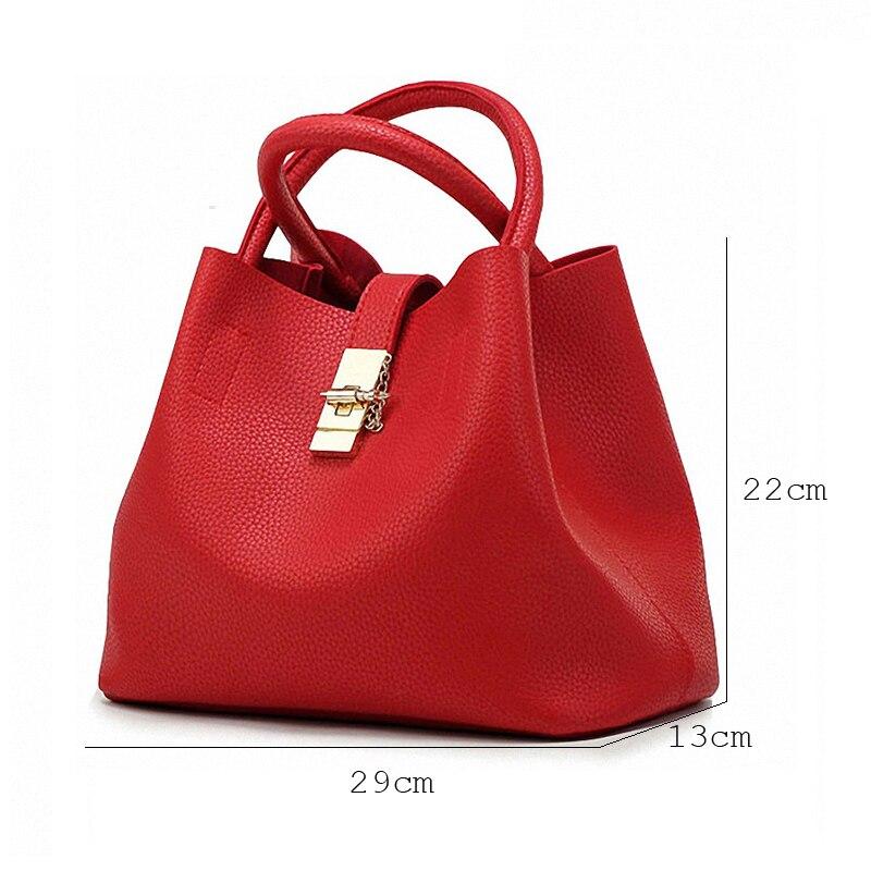 mulheres totes bolsa pu mulheres Features : Women Handbags&shoulder Bag