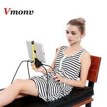 Vmonv Spider leg Adjustable Tablet Stand for Ipad iPhone Bed Sofa Desk Portable Spider Tablet Mount