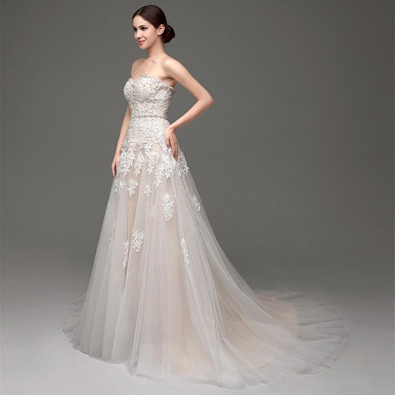 Beaded Lace Wedding Dresses