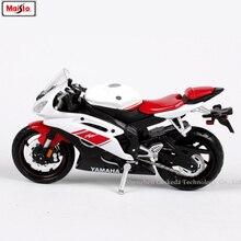 Maisto 1:18 Yamaha YZF-R6 original authorized simulation alloy motorcycle model toy car