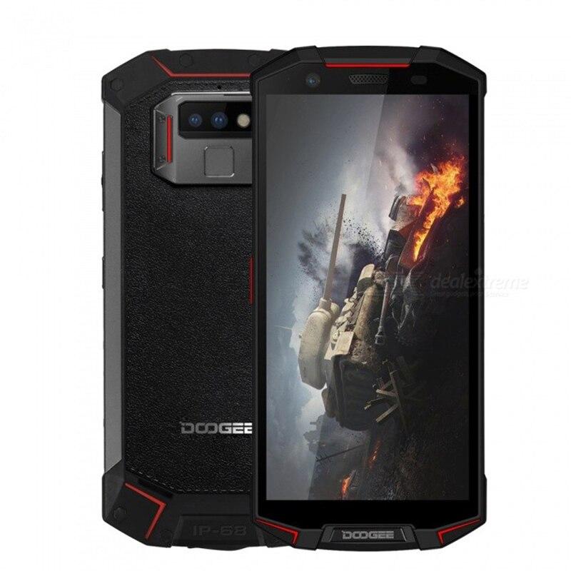 IP68/IP69K étanche DOOGEE S70 Lite téléphone portable Charge sans fil NFC 5500 mAh 12V2A Charge rapide 5.99 ''MTK P23 Octa Core 4 GB 64 GB