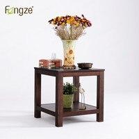 Fengze интерьер fz511 деревянная тумбочка гостиная чайный столик спальня в стиле кантри мини хранения небольшой тумбочка в дубовых