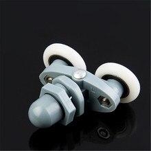 1 шт. шкив для ванной комнаты ролик для душевой комнаты стеклянные дверные колеса дуги колеса для душевой комнаты 19 мм-27 мм