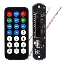 New MP3 Decoder Board Hitam Remote SD MP3 Player Ztv-m011 Remote Control Module FM Usb 2.0 3.5 mm keluar jack