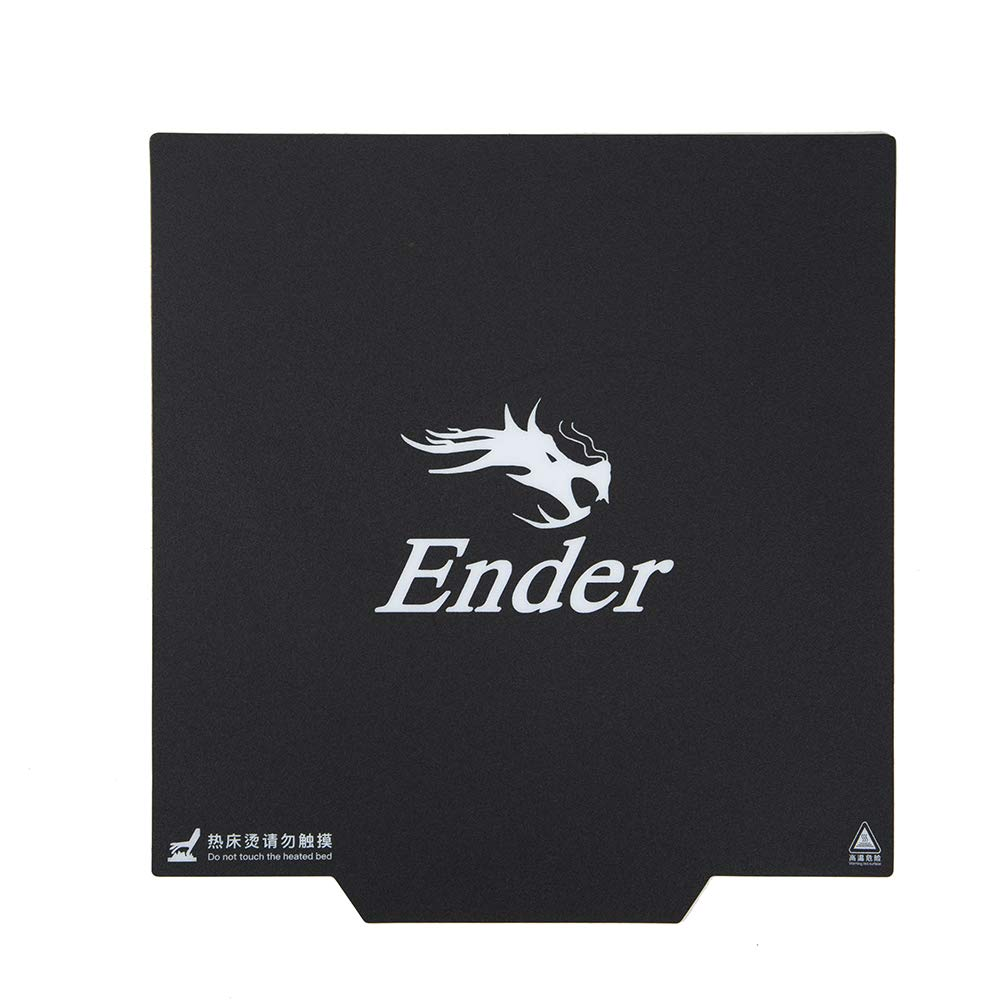 Ender 3 235X235MM Ultra Flexible Removable Magnetic Build Surface Heated Bed Cover PLA for Ender 3/3S pro CR20 3D Printer parts|3D Printer Parts & Accessories| |  - title=