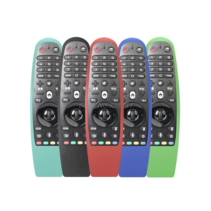 Silicone Cover Case Protective Skin For LG AN-MR600 Smart TV Remote Controller Electronics StocksSilicone Cover Case Protective Skin For LG AN-MR600 Smart TV Remote Controller Electronics Stocks
