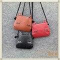 De los bebés bolsas kawaii mini PU bolsas de mensajero para los niños pequeños accesorios regalos gato de dibujos animados monederos niños bolsos crossbody