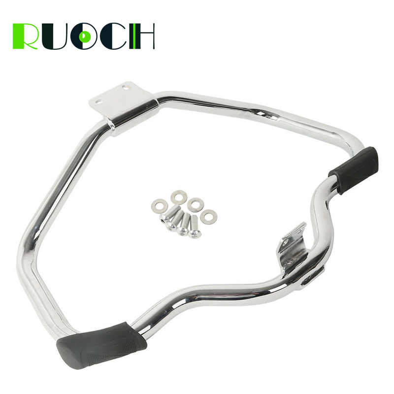 For Harley Sportster Engine Guard Crash Bar Highway Motorcycle Mustache for Sportster XL883 XL1200 2004-2019 XR1200 2008-2013 (1)
