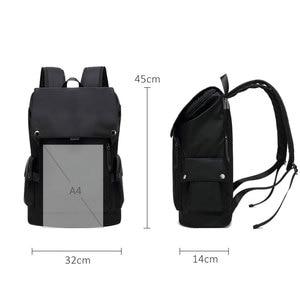 Image 3 - Scione Men Fashion Backpack Laptop Backpack For Men 2020 Waterproof Travel Outdoor backpack School Teenage Mochila Bag