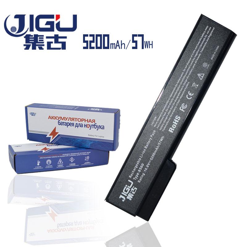JIGU 5200mAH Laptop Battery For HP ProBook 6460b 6360b 6465b 6470b 6475b 6560b 6565b 6570b EliteBook 8460p 8470p 8560p 8570p hsw laptop battery for hp probook 6460b 6470b 6560b 6570b 6360b 6465b 6475b 6565b 8460p 8470p 8560p 8460w 8470w 8570p batteria
