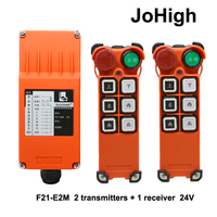 F21 E2M AC 220V 380V DC 36V 24V Industrial remote controller switches Hoist Lift