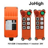 F21 E2M AC 220V 380V DC 36V 24V Industrial Remote Controller Switches Hoist Lift