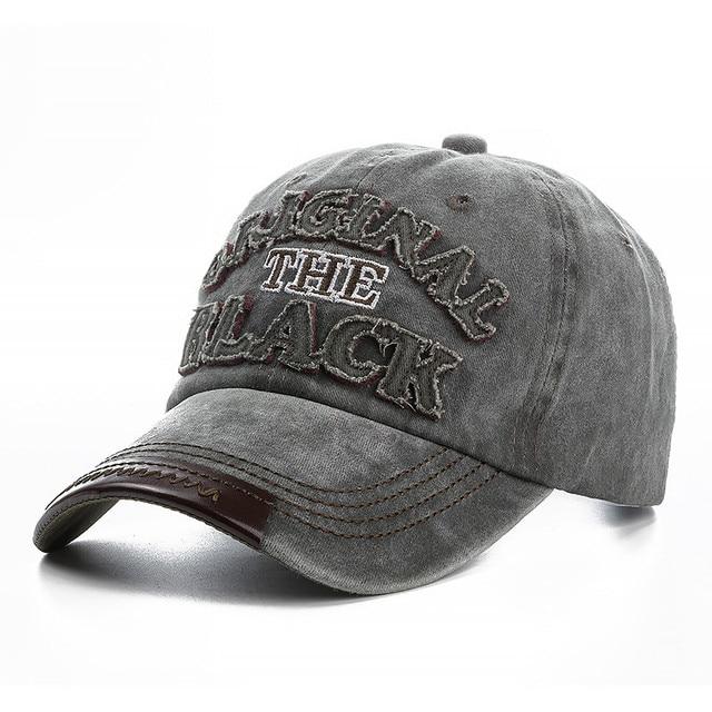 gray Black snapback hat 5c64fe6f2b740