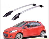 FUWAYDA car styling Roof Rack Boxes Side Rails Bars Luggage Carrier A Set For Mazda 2 2007 2014 2008 2009 2010 2011 2012 2013