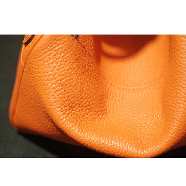 2017 Cow Genuine Leather Famous Designer Women Casual Tote Bags Handbags Hobo Shoulder Bag Solid High Capacity Hobos Bags Purse