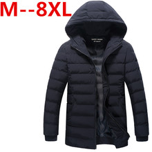 Men Hoody Winter Coats Male Hooded Plus Size 9XL 8XL 7XL 6XL 5XL 4XL Jackets Teenager Slim Fit Windbreaker Down Parka