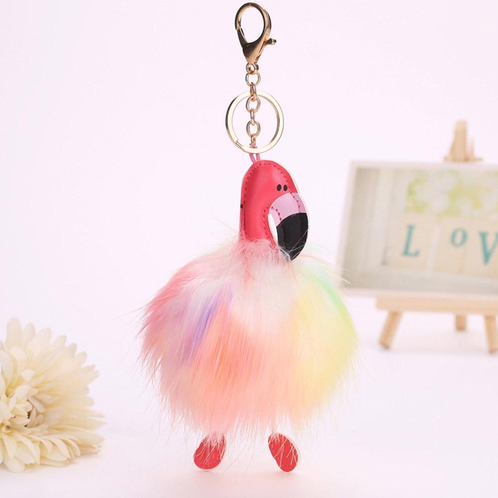 Bird Artificial Ball Women Car Lovely Bag Rabbit Fur Bag Charms Accessories Parts & Accessories 2018 Hot Sell